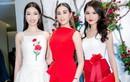 Hoa hậu Sella Trương nổi bật bên cạnh Hoa hậu Đỗ Mỹ Linh
