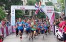 Hà Nội: MC Minh Trang cùng nhiều gia đình trẻ hào hứng tham gia giải chạy bộ bán chuyên
