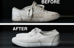 Cách tẩy trắng giày sneaker bẩn mà không cần dùng xà phòng