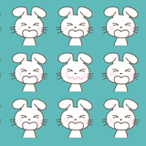 Đố bạn tìm ra 7 con thỏ có khuôn mặt khác biệt mà không hoa mắt