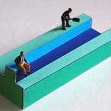 Tìm ra người ở trên bậc thềm trong bức tranh ảo giác để biết mình là người lý trí hay cảm xúc