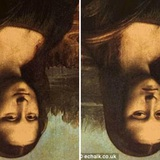 Bức họa nàng Mona Lisa lộn ngược có gì đó sai sai nhưng hàng triệu người tìm lác mắt vẫn không ra