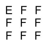Chỉ người thoát mù chữ mới phân biệt được các chữ cái khác biệt
