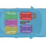 Vị trí ngồi yêu thích trên xe ô tô con tiết lộ ưu điểm nổi bật của bạn