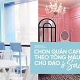 Chọn quán cà phê theo màu, Sài Gòn có cả list xanh hồng vàng trắng... dành cho bạn