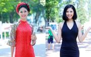 Á hậu Thanh Tú đọ sắc cùng người đẹp biển Đào Thị Hà sau cuộc thi HHVN 2016
