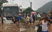 Chùm ảnh: Những hình ảnh khủng khiếp ở Lào Cai khi cơn lũ quét qua