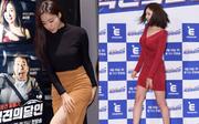 Eunjung (T-ara) diện váy khoe đùi trắng nõn nhưng vẫn kém cạnh MC có gương mặt đẹp nhất xứ Hàn