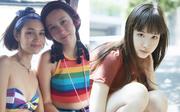 """""""Bạn gái cũ G-Dragon"""" Kiko Mizuhara khoe em ruột vừa cá tính, vừa xinh xắn đáng yêu"""