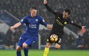 TRỰC TIẾP Leicester 0-0 Man City (hiệp 1): Aguero dự bị