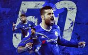 Cột mốc 50 bàn của Diego Costa ấn tượng hơn Suarez, Ronaldo, Drogba