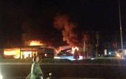 Cháy lớn gần cây xăng ở Vũng Tàu, nhiều người hoảng loạn