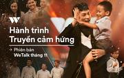 Hành trình truyền cảm hứng WeChoice Awards tháng 11: Phía trước bình minh là hy vọng!