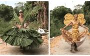 Clip thiên thần thôn quê sải bước trong show Victoria's Secret