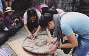 Thứ bánh gắn liền với loài hoa nổi tiếng của Hà Giang lại là một đặc sản mà ai lên đây cũng phải tìm ăn thử