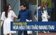 Mở màn paparazzi năm Mậu Tuất: Hoa hậu Đặng Thu Thảo lần đầu lộ bụng bầu, cùng ông xã Tín Nguyễn đi khám thai!