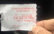 """Đền Trần (Nam Định): Không gửi xe vẫn phải trả phí kiểu """"chặt chém"""""""