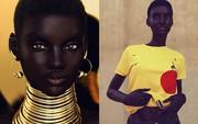 Xôn xao hình ảnh cô người mẫu có làn da tối nhất thế giới và câu chuyện về danh tính thực sự ít ai ngờ