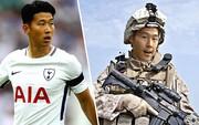 """""""Thần tài"""" Son Heung Min khiến Tottenham sợ vì có thể phải đi... lính"""