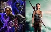 """Đả nữ """"Tomb Raider"""" thất trận trước """"Black Panther"""" trên bảng xếp hạng phòng vé cuối tuần"""