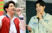 """Trước khi sang Hồng Kông, Noo Phước Thịnh tất bật chạy 2 show liên tiếp trong ngày, được fan Hà thành """"săn đón"""" hết cỡ"""