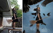 """Tài năng Photoshop """"thượng thừa"""", cô nàng biến bộ ảnh vườn nhà thành những kiệt tác nghệ thuật"""