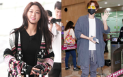 """""""Báu vật quốc dân"""" Seolhyun đẹp như đóng quảng cáo, tài tử Park Hae Jin bị chê vì cưa sừng làm nghé tại sân bay"""