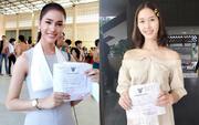 Á hậu và Hoa hậu chuyển giới Thái Lan gây sốt vì quá xinh đẹp khi... đi đăng ký nghĩa vụ quân sự