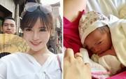 Sau 1 năm kết hôn, Tú Linh MU đã sinh con gái đầu lòng