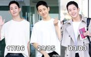 Quá điển trai tại sân bay, Jung Hae In lại bị chê vì... dù lên phim, dự sự kiện hay selfie cũng diện mỗi chiếc áo trắng