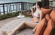 Hơn 2 tháng sinh con, Ngọc Duyên đã tự tin diện bikini khoe body nuột nà khiến dân tình tròn mắt