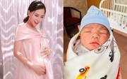 Vbiz lại có thêm tin vui: Hải Băng vừa sinh con trai thứ 2 cho diễn viên Thành Đạt