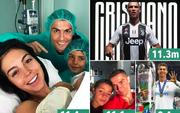 """Tin Ronaldo gia nhập Juventus vào Top 5 lượt """"like"""" khủng nhất trên Instagram"""