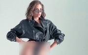 Hoa hậu Hoàn vũ 2012 lại khoe da thịt táo bạo sau scandal bị bạn trai bỏ vì chụp ảnh nude