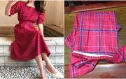 Chi 320k mua váy mùa thu xinh xắn, cô nàng đã nhận đồ khác xa thực tế lại còn bị tưởng là khăn trải bàn