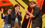 Màn trình diễn của cô nàng mang 2 dòng máu Thái Đức