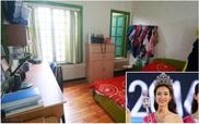 """""""Thăm"""" nhà của gia đình Hoa hậu Đỗ Mỹ Linh tại phố cổ tấp nập bậc nhất Hà Nội"""