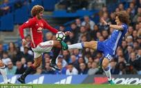 Chuyên gia khẳng định David Luiz xứng đáng bị đuổi khỏi sân vì cú đạp thô bạo với Fellaini