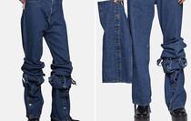 Điểm danh 7 mẫu quần jeans quái đản đã xấu đau đớn lại còn có mức giá chặt chém
