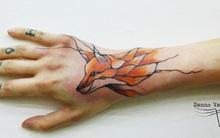 Bộ sưu tập hình xăm sáng tạo được vẽ trên mạch máu