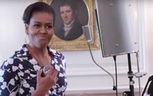 Đệ nhất phu nhân Mỹ tung video đọc rap và nhảy hip hop