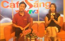 Vừa đăng quang, Thanh Chương hài hước giao lưu cùng khán giả trong chương trình Cafe sáng trên VTV3