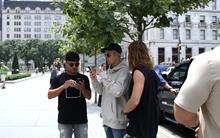 Đến cả Justin Bieber cũng chơi Pokémon GO