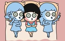 Tranh vui: Tụ tập theo nhóm, con trai - con gái khác nhau như thế nào?