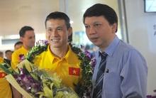 Futsal Việt Nam về nước sau World Cup lịch sử