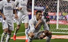 Ronaldo ghi danh lịch sử sau cú hat-trick vào lưới Atletico