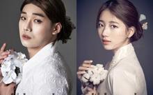 """Không thể chịu nổi độ """"lầy"""" của danh hài SNL Hàn Quốc khi """"nhái"""" Suzy, Tiffany trên tạp chí"""