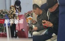 Lâm Tâm Như bụng bầu một mình bê vác hành lý, Hoắc Kiến Hoa không đeo nhẫn cưới sau 2 tháng kết hôn