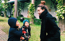 Hà Hồ dạy Su Beo mỉm cười và mạnh mẽ trước thị phi