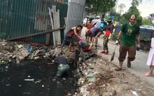 Đại diện Phường: Ủng hộ việc dọn rác nhưng họ nên xin phép trước với chính quyền!